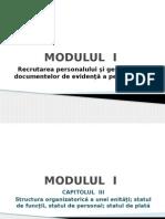 Structura Organizatorică a Unei Entitați; Statul de Funcții; Statul de Personal; Statul de Plată (2)