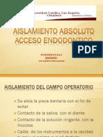 AISLAMIENTO-ACCESO ENDODONTICO 1.pdf