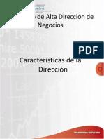 Caracteristicas de La Direccion