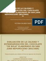 Chocolate - Diapositivas