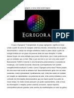 Egregora Apresentação BR