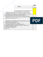 Time Table ICP -BSD