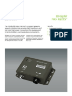 EB Gigabit PoE+Injector