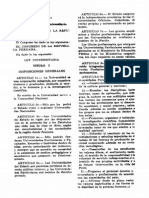 Ley Universitaria 1960