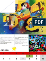 calendário poesia 2010