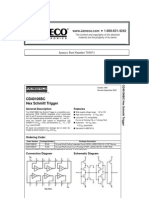 National Semiconductor CD40106BCN Datasheet