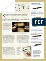 Spring 2013 - Morse Museum Fountain Pen Exhibit