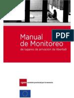 Manual de Monitoreo de Lugares de Privación de Libertad _ Comisión Por La Memoria