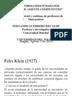 FORO Ciudadanos matematicamente competentes 1.pptx