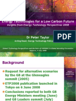 5534059 IEA Energy Technologies for a Low Carbon Future