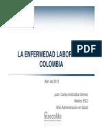 4 Enfermedad Laboral en Colombia Fasecolda