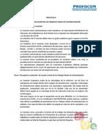 1. Protocolo Comisión Evaluadora