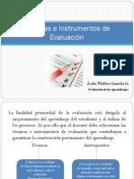 Tecnicas e Instrumentos de Evualuación