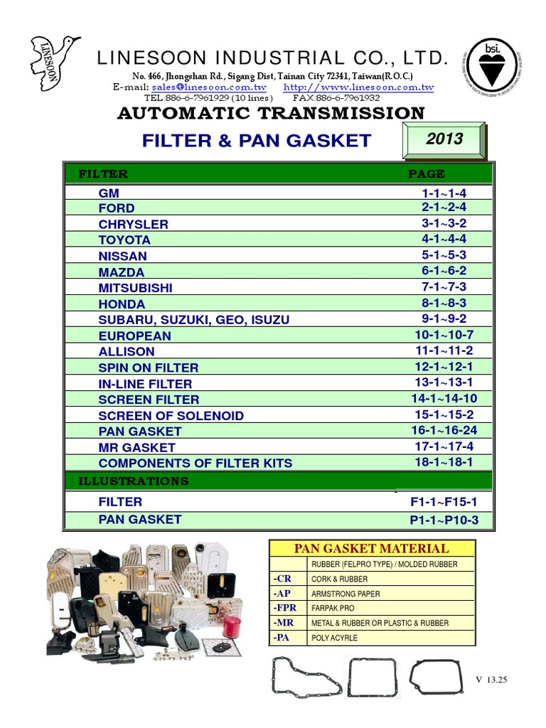 NEW AUTOMATIC TRANSMISSION FILTER for 4L60E DEEP PAN ALL PLASTIC /& RUBBER GASKET