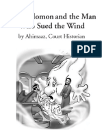 King Solomon and the Man Who Sued the Wind