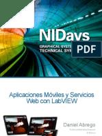 Aplicaciones Moviles y Servicios Web Con LabVIEW
