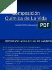 Composición Química de La Vida II (Compuestos Orgánicos)