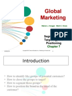 Global marketing chapter 7