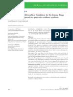 pragmatism JBI approach.pdf