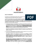 35. Pronunciamiento en Relación a Los Cuestionamientos Públicos Sobre El Indulto Por Razones Humanitarias