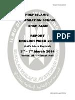 Kertas Kerja Minggu English 2015