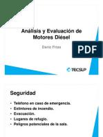 Análisis Del Funcionamiento y Fallas Del Sistema de Refrigeración de Motor Diesel
