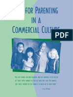 Tips for Parenting in a Commercial Culture