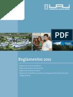 Folleto Reglamentos Final 2011