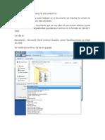 Creacion de Versiones de Documentos