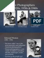 monday master photographers 20s 30s  40s