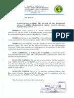 RHRC Resolution No. 2013-056