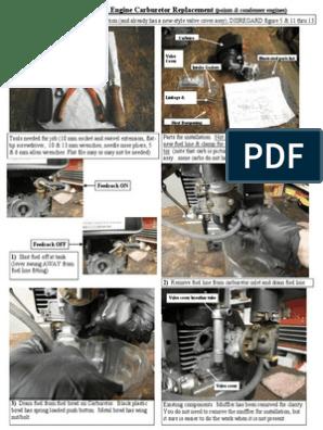 ACME AL-ALN Engine Carburetor Replacement | Carburetor | Throttle