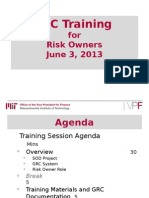 06-03 GRC Training - Risk Owners