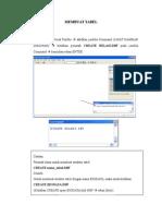Praktek1 - Membuat Tabel (Psbd 2)