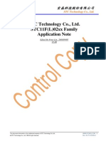 STC11F02xx Application Note_V1.0