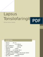 Lapsus Tonsil Winta