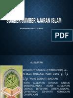 Materi Kedua_Sumber Ajaran Islam.ppt