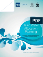 Basin Water Allocation Planning