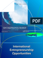 entrepreneurship-  international perspective