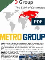 Metro Group Istoric - Strategii