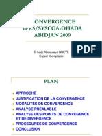Convergence Ifrs Syscoa Ohada Abdoulaye Gueye