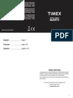 Timex Digital World Cities