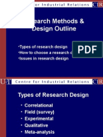 Types of Research Designs