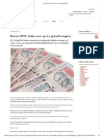 Davos 2015_ India Revs Up Its Growth Engine