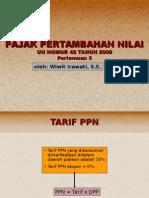 TARIF PPN