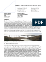 Design of a High Speed Rail Arch Bridge over the Alcántara Reservoir (Spain)