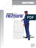 16010061 Maytag Neptune Front Load Washer Service Manual