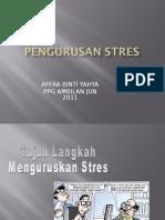 Teknik Pengurusan Stress
