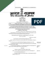 Merchant Shipping First Amendment) Act, 2014