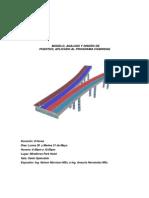Modelo, Analisis y Diseño de Puentes, Aplicado Al Programa Csibridge